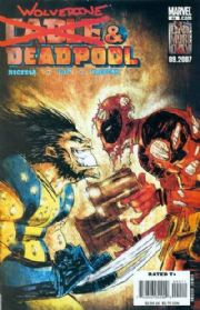 Cable Deadpool #44 (2007) Wolverine Marvel comic book
